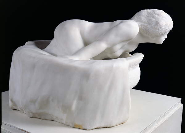 Image of 'Little Fairy of the Water, or The Spirit of the Spring', 1903 (marble), Rodin, Auguste (1840-1917) / French, Philippe Galard, Musee Rodin, Paris, France, © Philippe Galard / Bridgeman Images