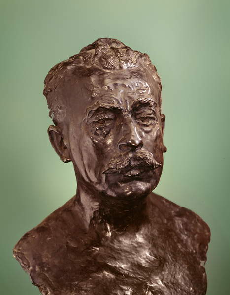 Etienne Clementee, 1916 (bronze), Rodin, Auguste (1840-1917) / FrenchMusee Rodin, Paris, France, Photo © Boltin Picture Library / Bridgeman Images