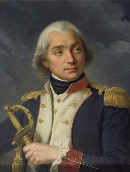 Image of General Charles Pichegru (1761-1804) (oil on canvas), Caminade, Alexandre-Francois (1789-1862) / French, Chateau de Versailles, France, © Bridgeman Images
