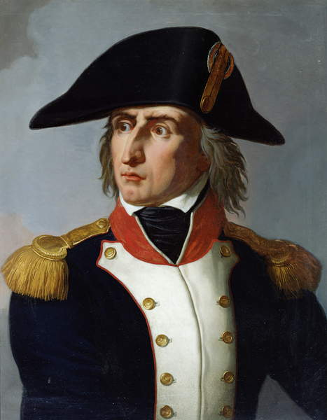 Image of Charles-Pierre-Francois Augereau (1757-1816) Duke of Castiglione (oil on canvas), © Bridgeman Images