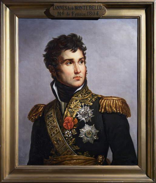 Image of SYC6333625: Jean Lannes, 1834 (oil on canvas), Volpeliere, Julie (a.1790 - 1842) / Musee des Armees, Hotel des Invalides, Paris, France, Photo © Sylvain Collet / Bridgeman Images