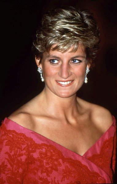 Image of Diana, princess of Wales (1961-1997) in 1991 / © Bridgeman Images