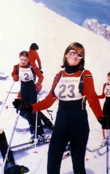 Image of Diana Spencer at 16, while at the Institut Alpin Videmanette, Switzerland, 1977 (photo) / © Bridgeman Images