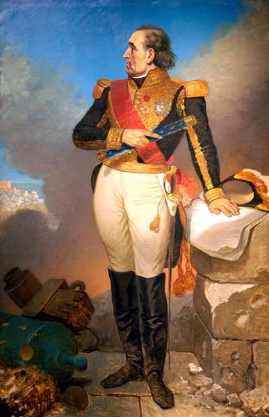 Image of a Portrait of Marechal Soult, Duc de Dalmatie, c.1819 - 35 (oil on canvas), Court, Joseph Desire (1797 - 1865) / The Bowes Museum, Barnard Castle, County Durham, UK / © Bowes Museum / Bridgeman Images