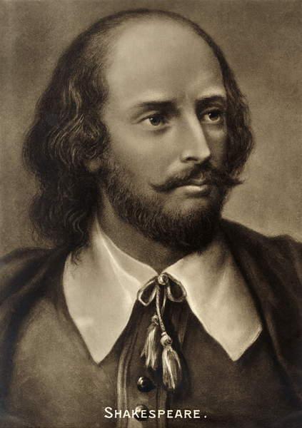 Image of William Shakespeare, portrait. English playwright 1564-1616, © Lebrecht Authors / Bridgeman Images