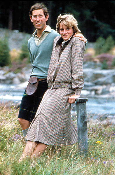Portrait of Princess Diana (Diane) and Prince Charles of Wales in 1982 / © Zumapress / Bridgeman Images