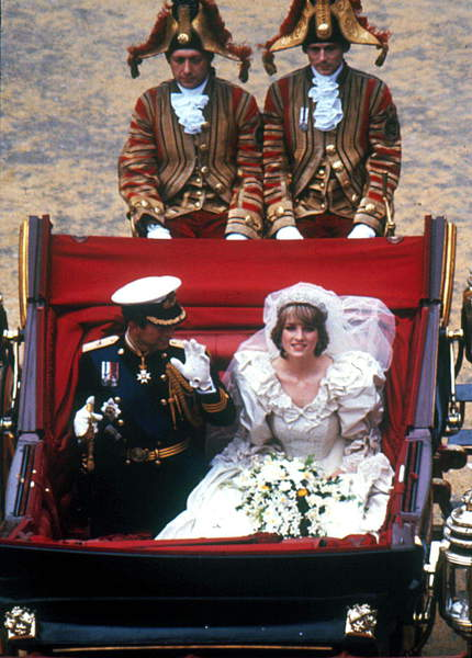 Marriage of Princess Diane (Diana) and Prince Charles of Wales at St. Paul's Cathedral in London 29 July 1981 / © Zumapress / Bridgeman Images