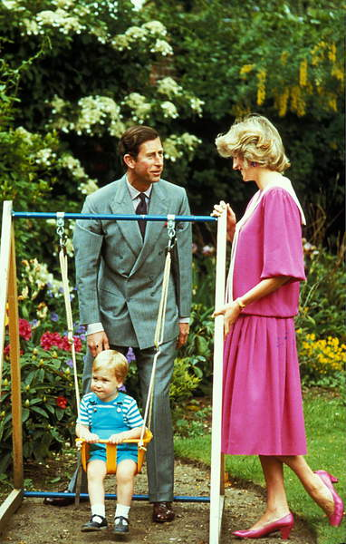 Image - Portrait of Princess Diane (Diana) of Wales Prince Charles of Wales and their son William in June 1984 / © Zumapress / Bridgeman Images