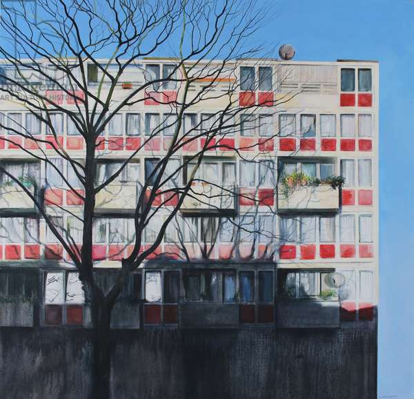 Big Society II, London 2012, (oil on linen)