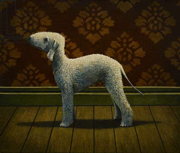 Knowing Ewe, 2013, (oil on linen)