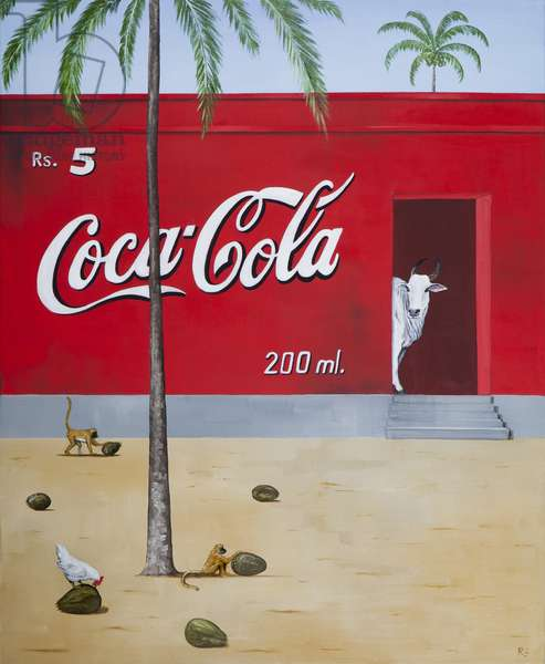 Coconut Shy, 2014 (oil on linen)