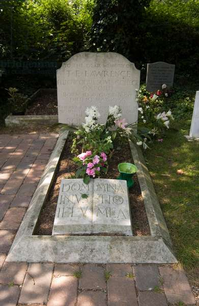 The grave of T. E. Lawrence