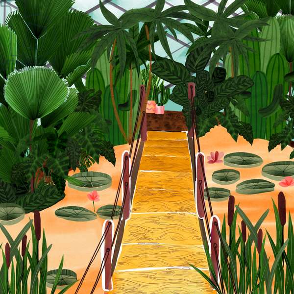 Botanical Garden, 2019, digital