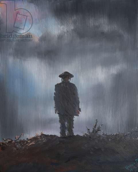 Unknown Soldier 1918, 2014, (oil on canvas)