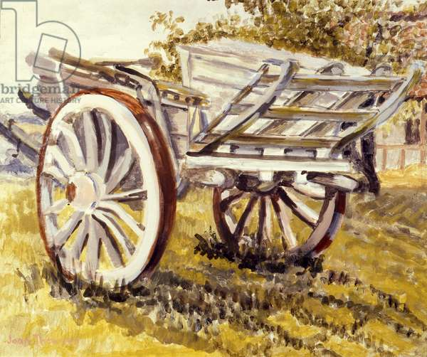 Farm Cart, Suffolk, 2012 (w/c on paper)
