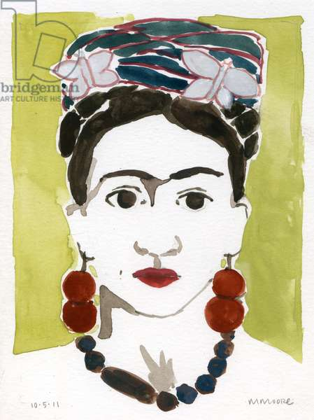 Frida, 2011 (watercolor)