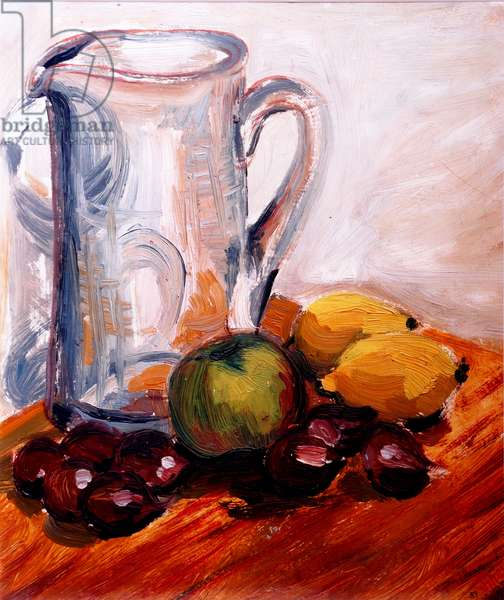 Jug with Chestnuts, 1965, Oil on canvas