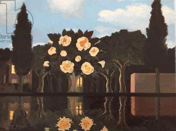 Reflection in Water, 2015, (oil on canvas)