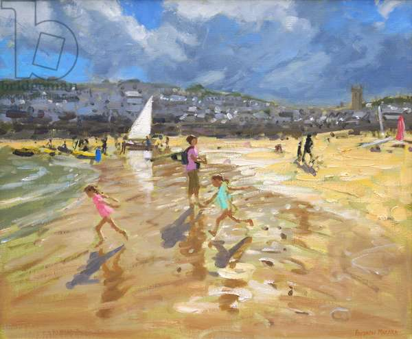 August in St Ives 2013 (oil on canvas)