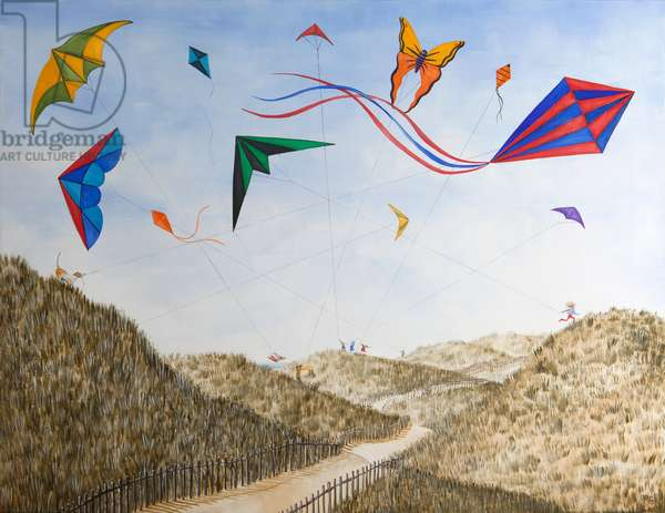 As High as Kite, 2012-13 (oil on linen)