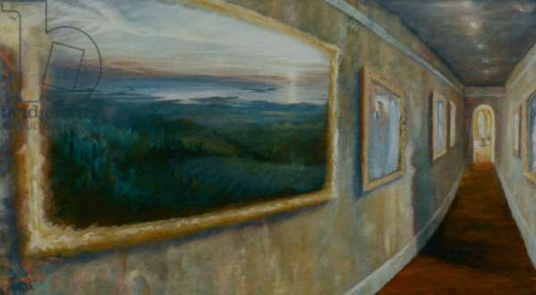 The Gallery, 1998 (oil on canvas)