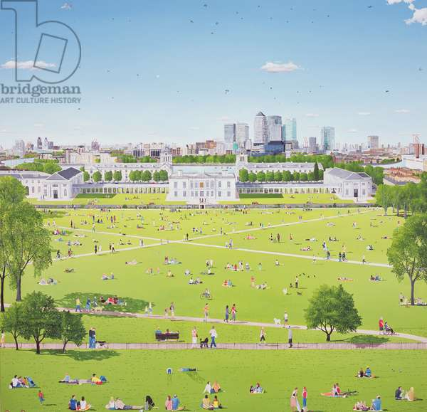 Greenwich Park Proverbs, 2010 (oil on canvas)