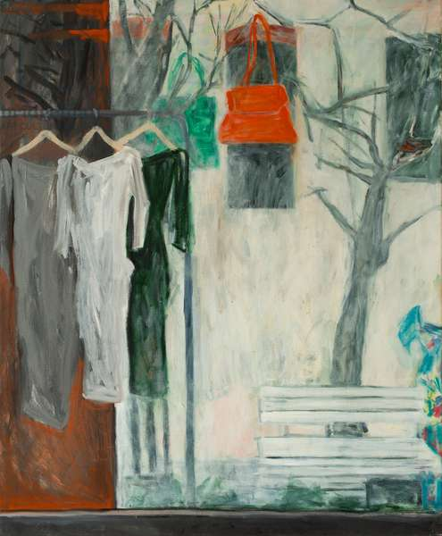 The Clothes Shop, 2016, (oil on canvas)