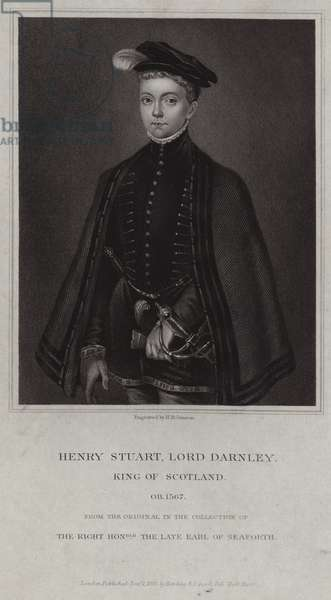 Portrait of Henry Stuart, Lord Darnley (engraving)