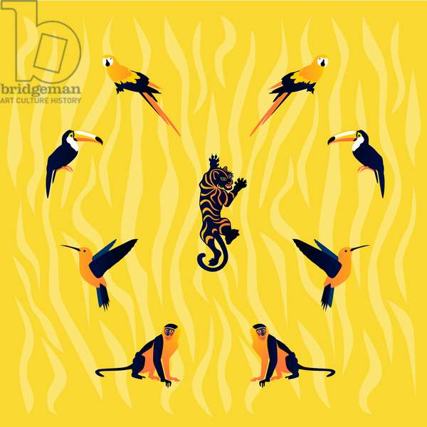 animals-yellow-black