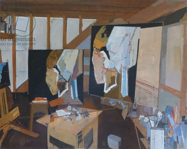 The Mill Studio, 2000 (oil on canvas)