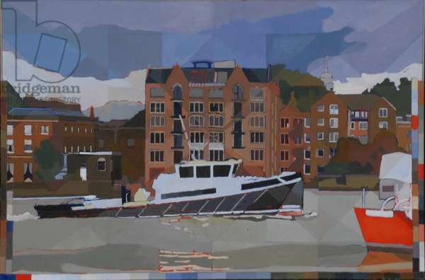 Bermondsey Resource, 2012 (oil on canvas)