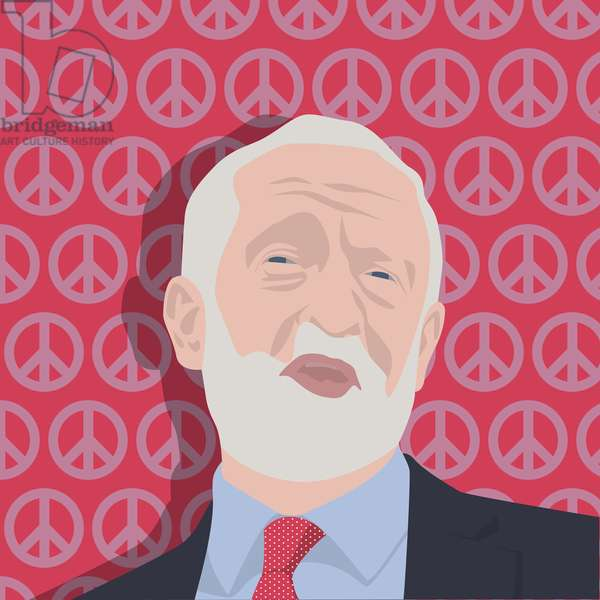 Portrait of Jeremy Corbyn