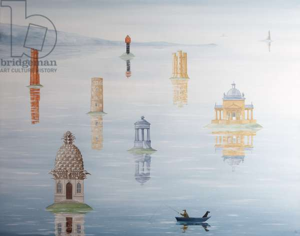 Illusions of Grandeur, 2012-13 (oil on linen)