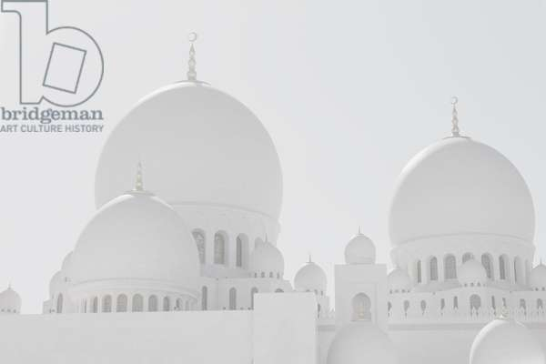 Sheikh Zayed Grand Mosque landscape#2
