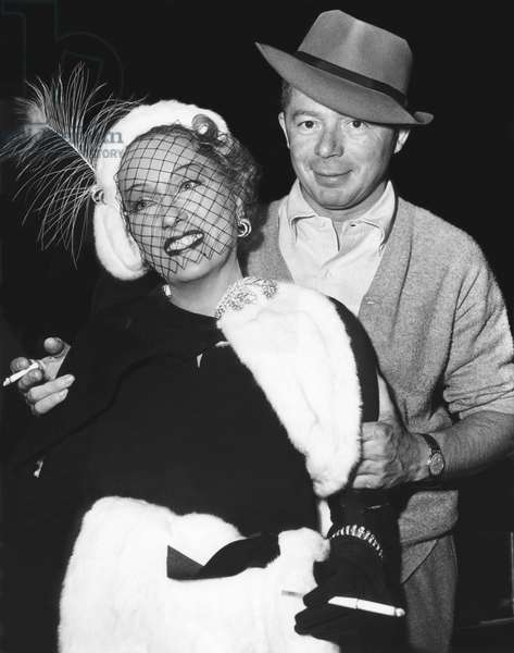 On The Set, Gloria Swanson With Billy Wilder