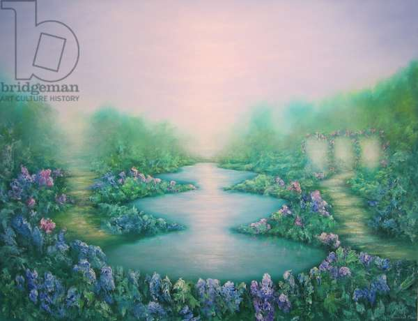 The Garden of Peace, 2011, (oil on canvas)