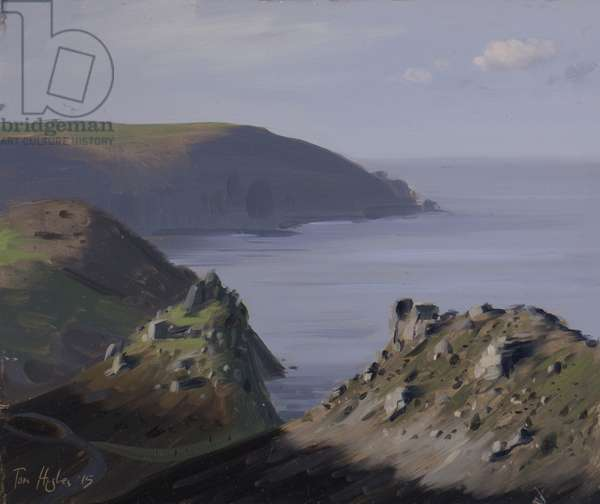 Valley of Rocks, late afternoon, December