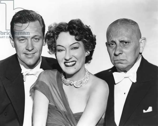 William Holden, Gloria Swanson And Erich Von Stroheim