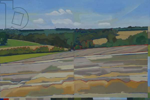 Madehurst, Post Harvest, 2011 (oil on canvas)