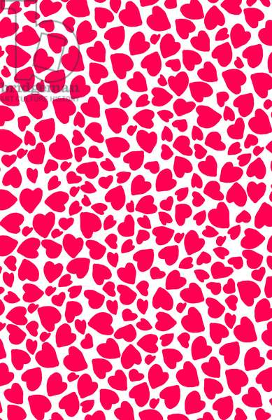 Animal Print Heart, 2014 (digital image)