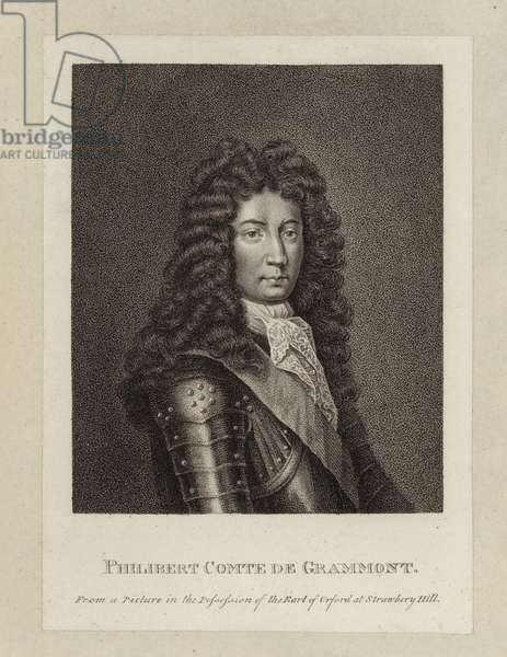Philibert Comte de Grammont (engraving)