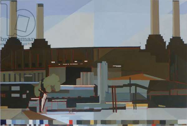 The Four Chimneys, 2012 (oil on canvas)