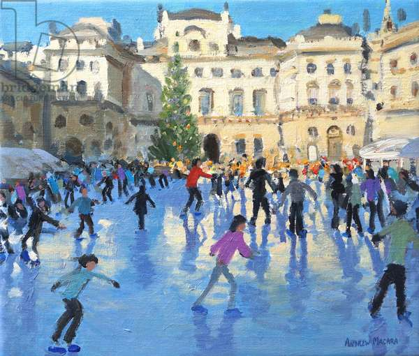 Christmas,Somerset House,2013,(oil on canvas)