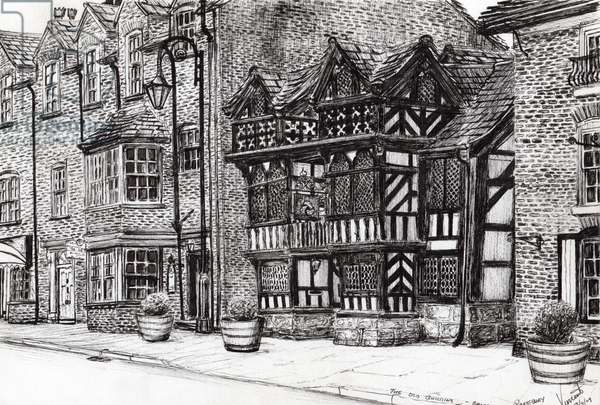 Prestbury NatWest Bank, 2009, (ink on paper)