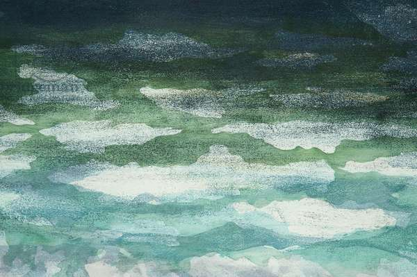 Squall Over Caribbean detail I