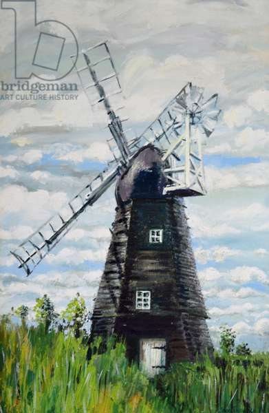 The Windmill,2000, (acrylic)