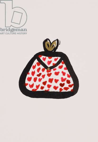 Red Spotty Purse