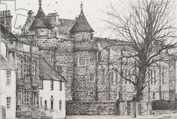 Falkland Palace, Scotland, 200,7  (ink on Paper)