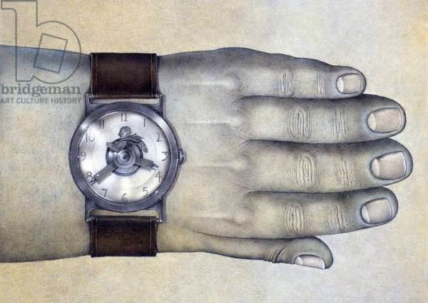 Punctuality,1977,Mixed Media
