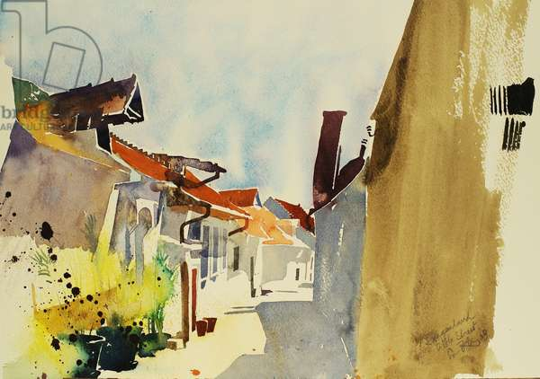 Burgenland 2003 (watercolour)